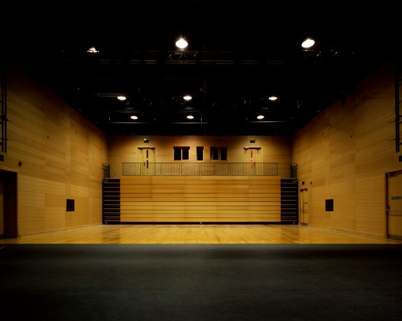 MER INT 06-auditorium with seating bank fully retracted